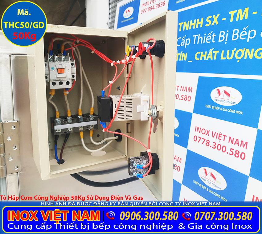 Tủ điện Tủ nấu cơm công nghiệp, Tủ nấy cơm 10 khay, Tủ gas hấp cơm, giá tủ hấp cơm bao nhiêu, Mua tủ hấp cơm tại Inox Việt Nam.
