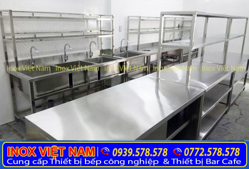 Kệ bếp Inox, Kệ Inox, Kệ Chén Bát Inox sản xuất Inox Việt Nam.