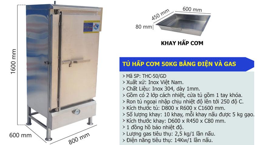 Tủ nấu cơm 30kg, Tủ hấp cơm công nghiệp, Tủ cơm 30kg bằng điện gas, Địa chỉ mua tủ nấu cơm 30 kg tại tphcm.