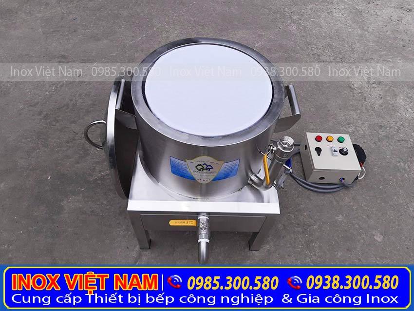 Giá nồi hấp bánh tráng cuốn điện inox  Nồi bánh tráng cuốn điện.
