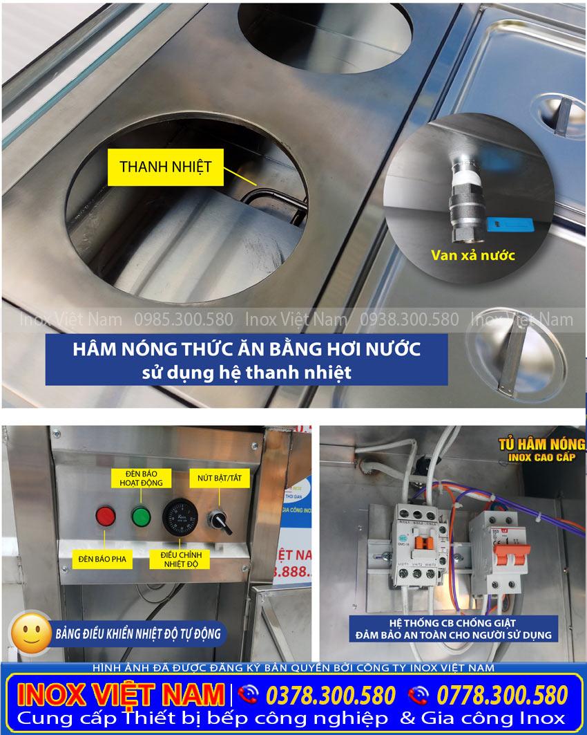 Bộ điều khiển tủ giữ nóng thức ăn thông minh và cao cấp.