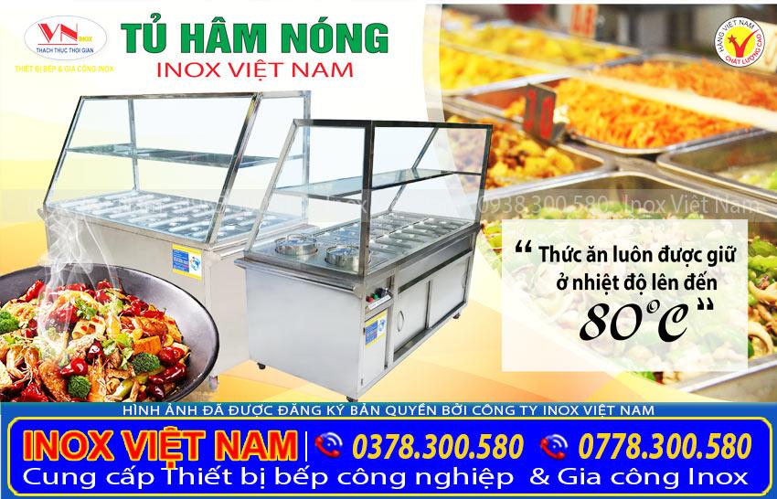 Tủ hâm nóng thức ăn công nghiệp| Tủ hâm nóng đồ ăn| Giá tủ hâm nóng thức ăn