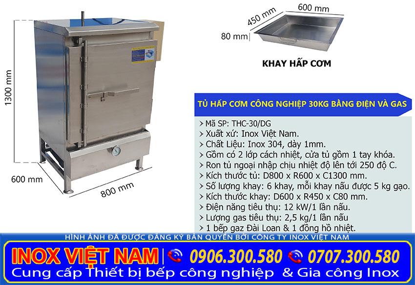 Tủ nấu cơm 30 kg, Tủ nấu cơm 50kg, Tủ hấp cơm 10 khay, Tủ nấu cơm công nghiệp, Gía tủ nâu cơm tại tphcm.