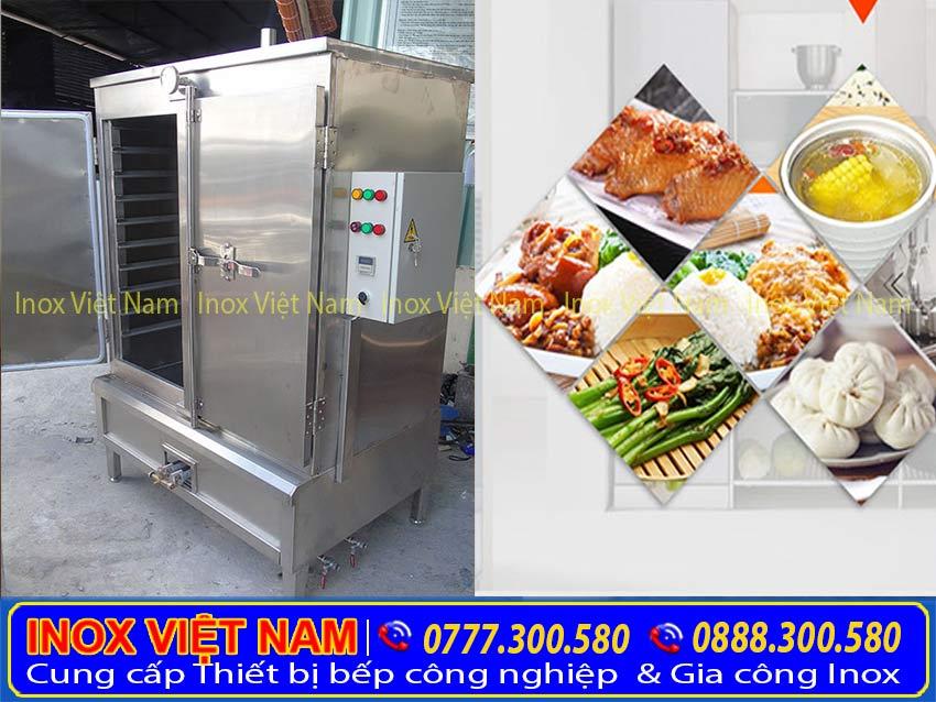 Tủ nấu cơm công nghiệp bằng điện và gas. Tủ hấp chuyên nghiệp hơn, nâng cao chất lượng cuộc sống. Báo giá tủ cơm công nghiệp bằng điện và gas | bảng giá tủ nấu cơm công nghiệp | bằng giá tủ nấu cơm công nghiệp | tủ nấu cơm 6 khây | tủ hấp cơm 10 khay