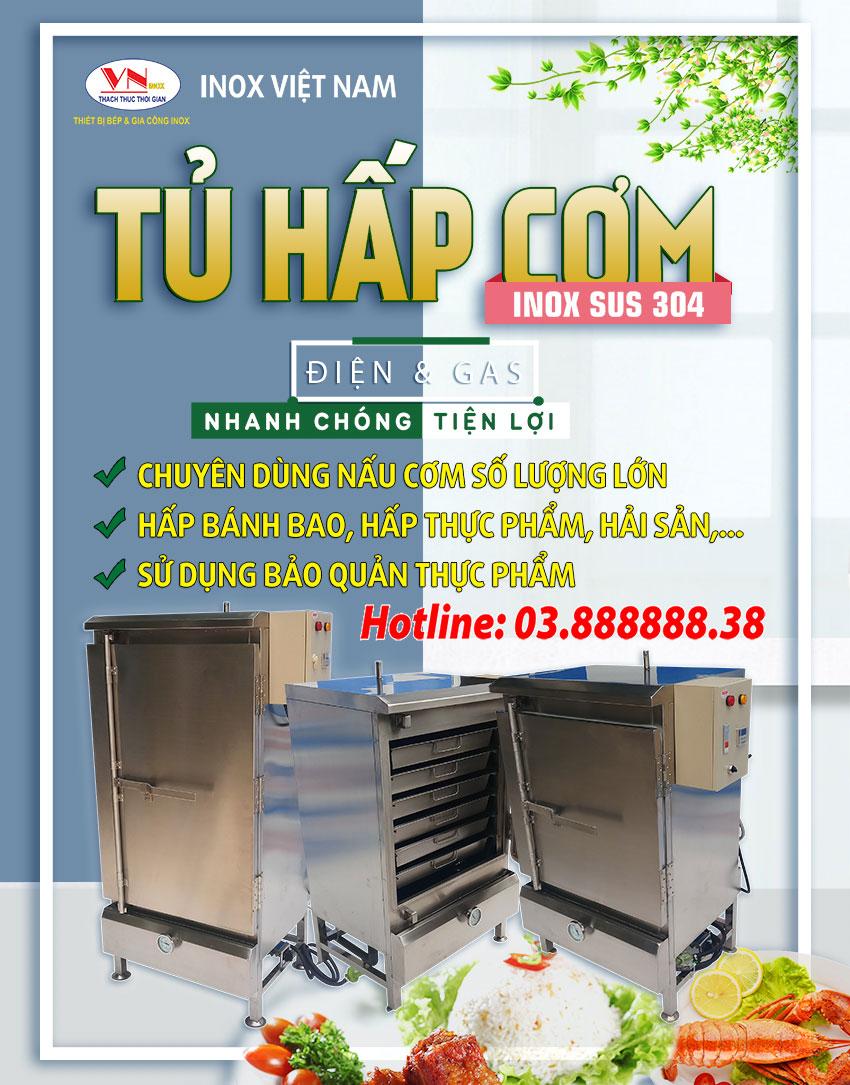 Tủ nấu cơm công nghiệp, Tủ nấu cơm , Tủ hấp cơm bằng gas, Tủ nấu cơm bằng gas và điện, Tủ hấp cơm,