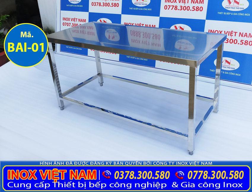 bàn bếp inox | bàn inox | báo giá bàn bếp inox  bàn inox giá rẻ | ban ghe inox 304 |  bàn inox nhỏ | bàn tròn inox 304