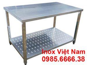 Báo giá bàn bếp inox | Bàn bếp inox mặt đá | Bàn bếp inox gia đình | Bàn bếp inox có chậu rửa | Bàn bếp inox nhà hàng | Bạn bếp inox mini