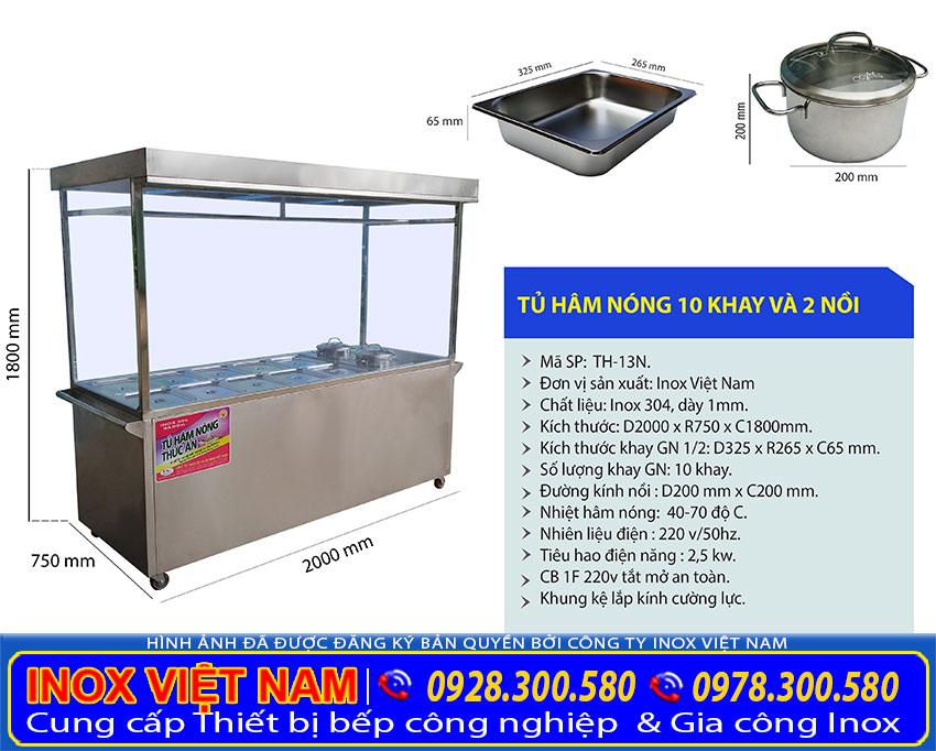 thiết bị giữ nóng thức ăn, tủ hâm nóng thức ăn công nghiệp, quầy giữ nóng thức ăn