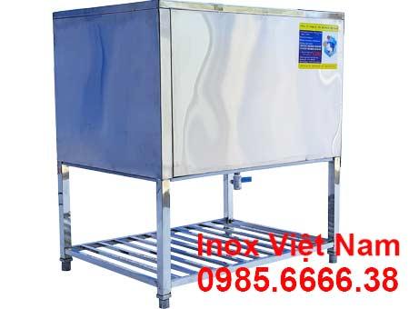 thùng đá inox | thùng đựng đá lạnh | Thùng giữ lạnh inox | thùng đá inox quầy bar | thùng đá giữ lạnh lâu | thùng đá inox âm bàn