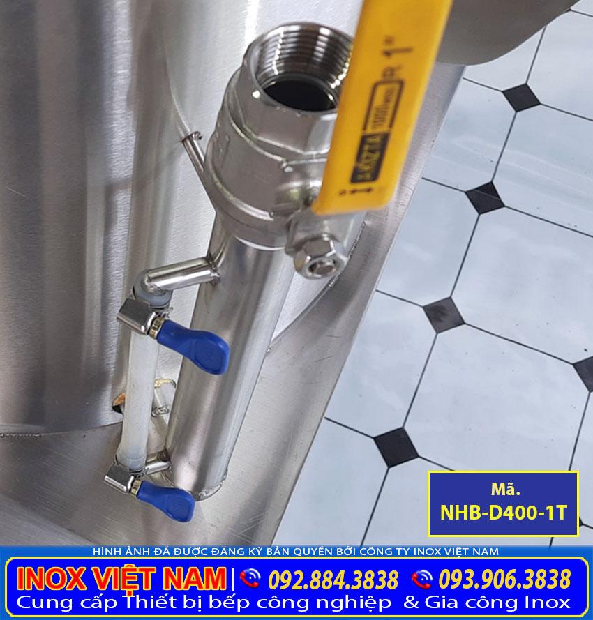 Ống đo mực dầu của nồi hấp bắp bằng điện 1 tầng.