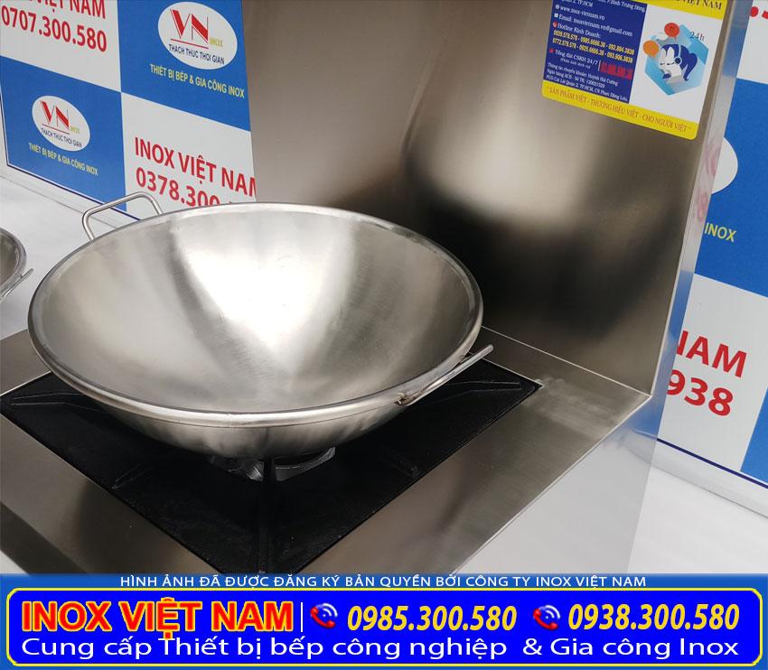 Báo giá cháo inox không dính, chảo chống dính, chảo chiên xào inox tại Bếp Inox Việt Nam.