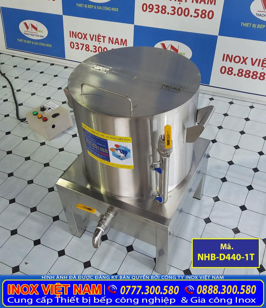 Nồi luộc bắp bằng điện, nồi điện nấu măng, nồi hầm bắp bằng điện sản xuất inox cao cấp.