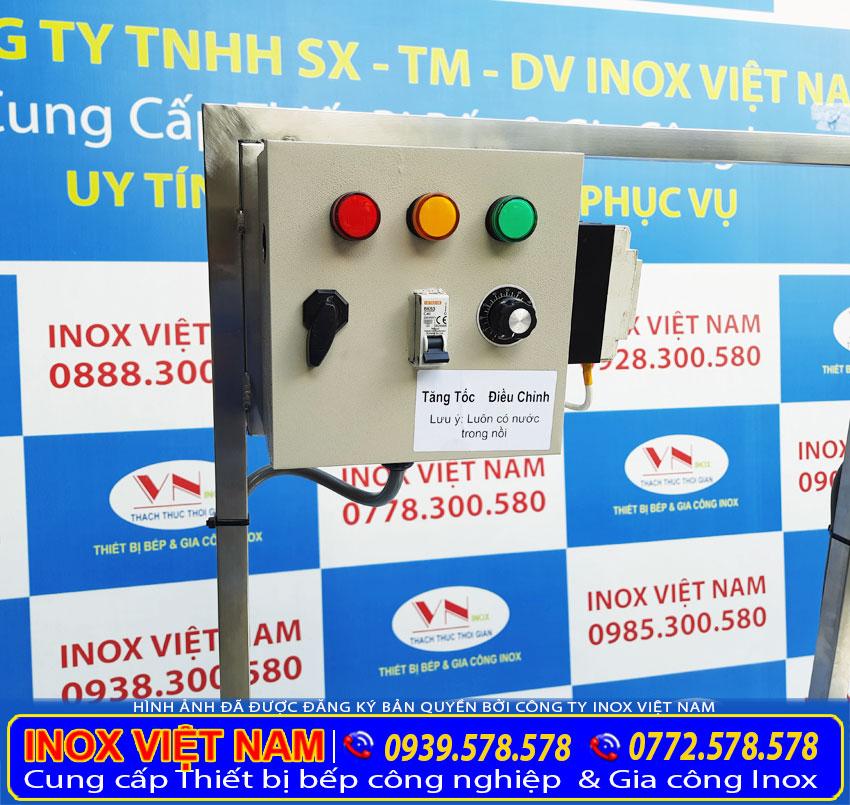 Hộp điện điều khiển rời lắp đặt và sử dụng dễ dàng.
