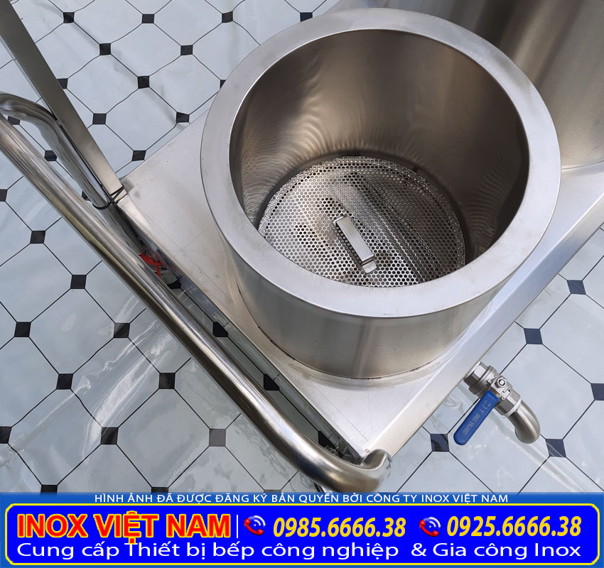 Bộ nồi phở inox dễ dàng vệ sinh & làm sạch.