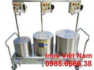 Bộ nồi nấu phở bằng điện 20L - 60L - 80L sản xuất inox cao cấp, có độ bền cao, chịu nhiệt tốt sản xuất tại Bếp Inox Việt Nam.