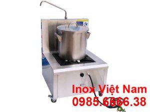 Nồi nấu phở dùng ga, nồi nấu phở bằng ga, nồi nấu hủ tiếu bằng ga sản xuất Bếp Inox Việt Nam.