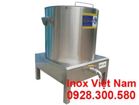 Nồi nấu hủ tiếu bằng điện, nồi hầm xương bằng điện, nồi nấu nước lèo điện cao cấp sản xuất Bếp Inox Việt Nam.