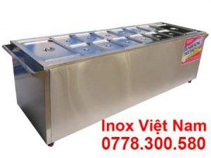 tủ giữ nóng thức ăn công nghiệp, báo giá tủ hâm nóng thức ăn, quầy hâm nóng thức ăn sản xuất Bếp Inox Việt Nam.