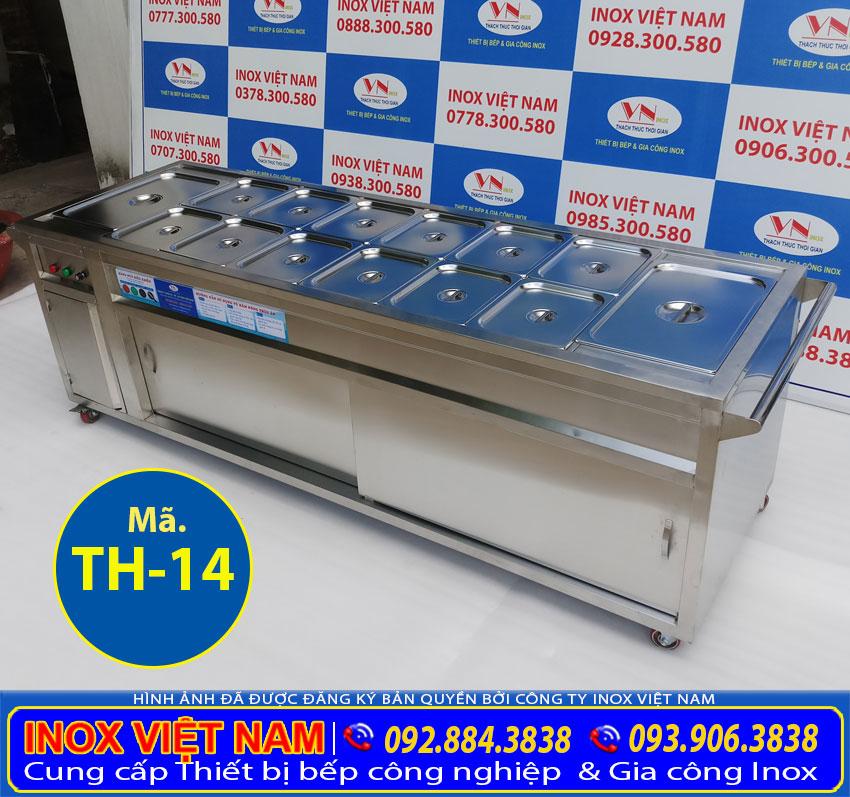 Xe hâm nóng thức ăn, tủ giữ nóng thức ăn sản xuất inox cao cấp, đa năng và tiện dụng.