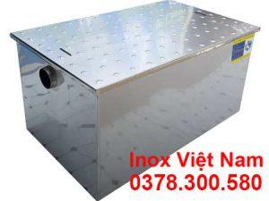 Bể tách mỡ inox, bẫy mỡ inox, thùng lọc mỡ inox, thiết bị lọc mỡ inox.