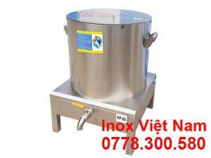 Nồi nấu nước lèo hủ tiếu bằng điện sản xuất Inox Việt Nam.