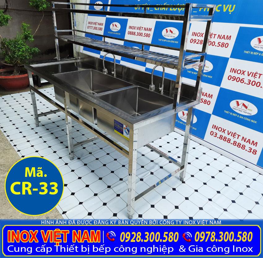 Bồn rửa công nghiệp | bồn rửa chén công nghiệp sản xuất Bếp Inox Việt Nam.