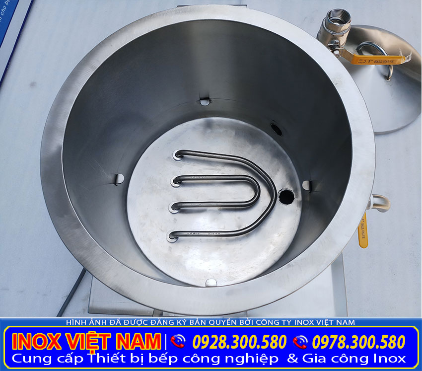 Nồi hấp bánh bèo công nghiệp | Nồi hấp bánh bèo bằng điện sản xuất bằng inox 304, có độ bền cao.