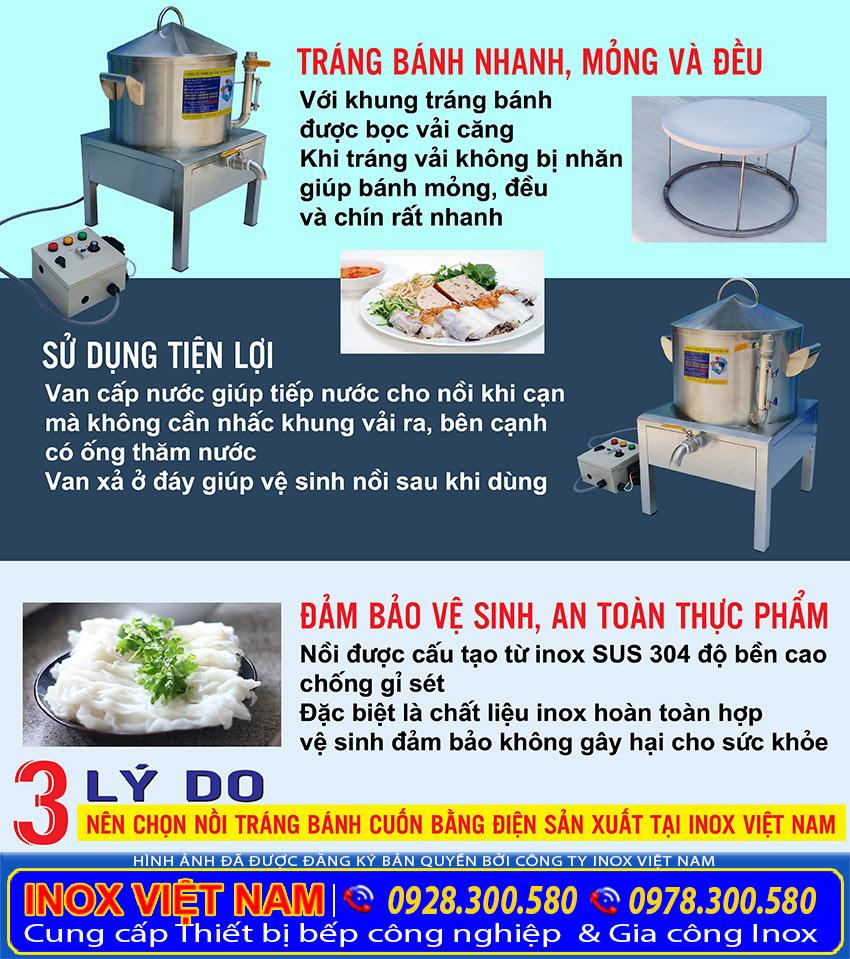 Inox Việt Nam - Đơn vị cung cấp nồi hấp điện, nồi hấp bánh cuốn bằng điện, nồi hấp bánh bao bằng điện, nồi hấp cơm tấm bằng điện tại Việt Nam.