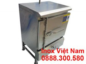 Mẫu tủ nấu cơm công nghiệp 20 kg | Tủ hấp cơm công nghiệp 20 kg bằng gas
