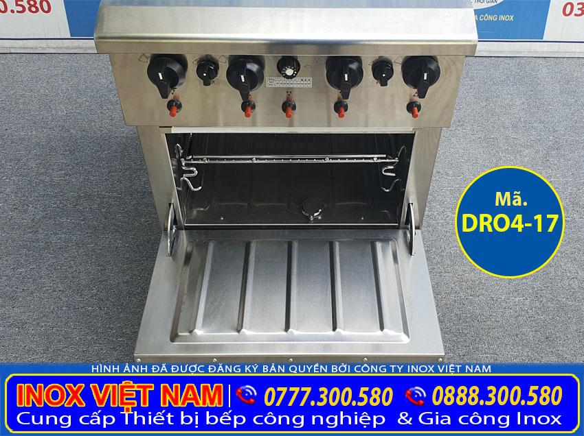 Thiết bị bếp công nghiệp, bếp âu sản xuất bằng inox 304 chất lượng cao.