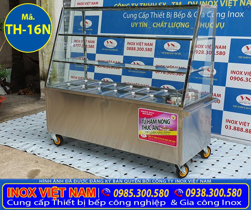 Tủ hâm nóng thức ăn, quầy hâm nóng thức ăn đa năng và tiện dụng.