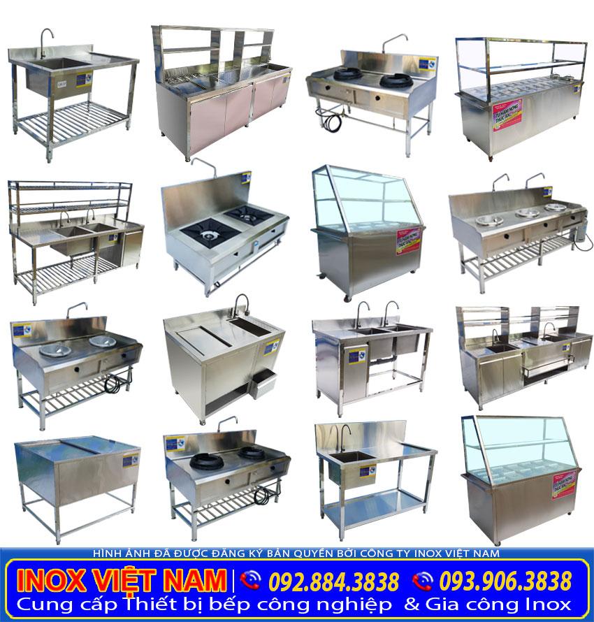 Các loại dụng cụ dành cho bếp nhà hàng, bếp công nghiệp